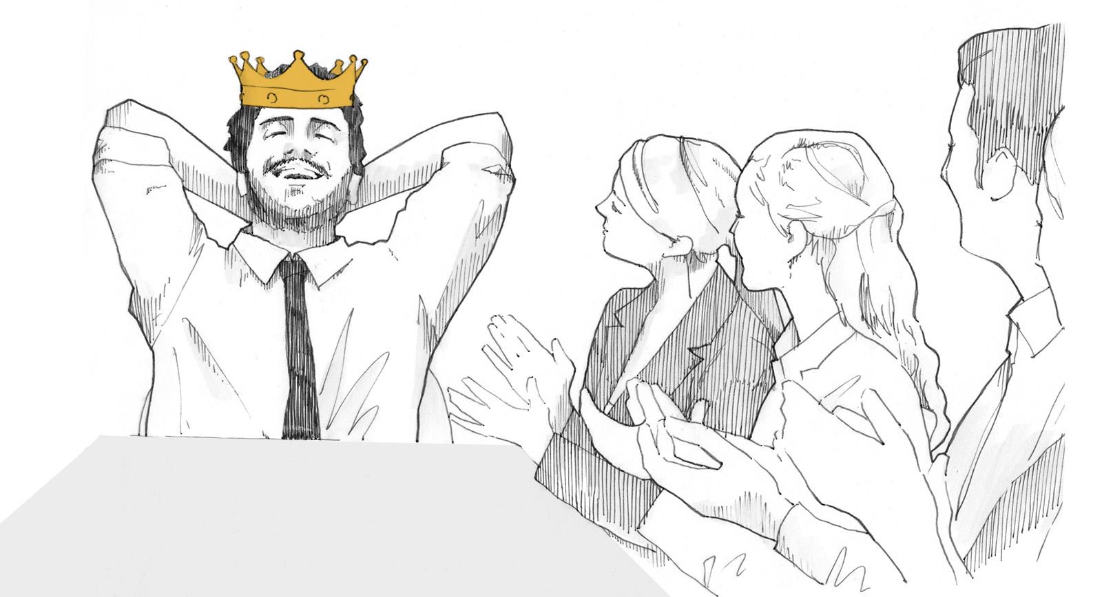 Despoten zu Tisch – Oder: Du bist, wo Du sitzt