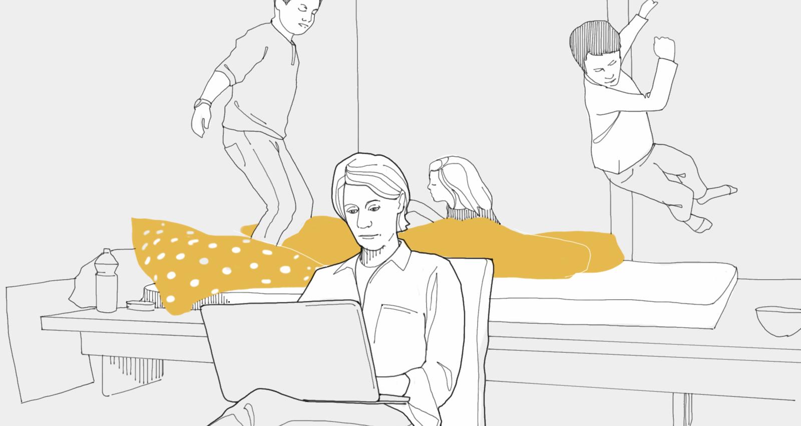 Home statt im Office – Orte der Arbeit 1/3
